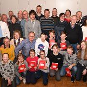 Verleihung Deutsches Sportabzeichen beim Ski-Club Benningen