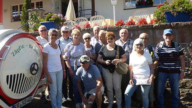Wanderung der SCB-Senioren im Südschwarzwald