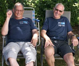 Bernhard Dierken und Uwe Assenheimer
