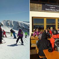 Schneevital Ausfahrt Ski-Club Benningen nach Sterzing