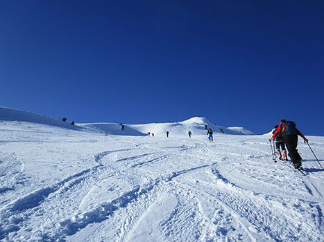 SC Benningen Skitour Kleinwalsertal