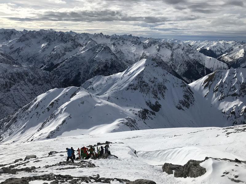 Skitourenwochenende des Ski-Club Benningen im Lechtal