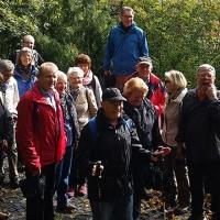 SCB Senioren auf dem Blaufüßlerweg in Stuttgart